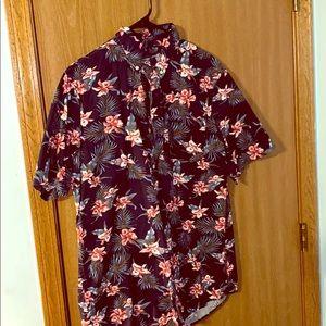 Short-Sleeve Button Up Shirt